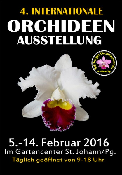 4. Internationale Orchideenausstellung 2016
